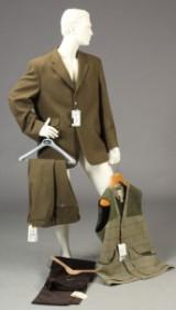 Alan Paine og Beretta M.fl. Tweed, jakke, Knickers, bukser samt skydevest (4)