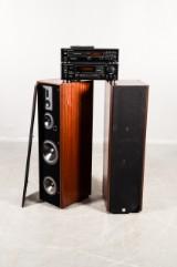 Dali 810 högtalare och Onkyo CD spelare & förstärkare (6)