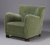Dansk møbelproducent. Lænestol, 1940'erne