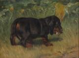Simon Simonsen. Maleri