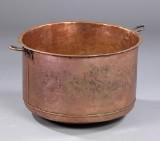 Gruekeddel af kobber, 1800-tallet