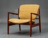 Finn Juhl. Lounge chair, model FD 136