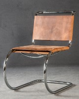Ludwig Mies van der Rohe, chair/cantilevered chair model S 533 L, limited edition for Thonet