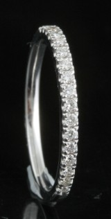 18kt diamond ring approx. 0.31ct.
