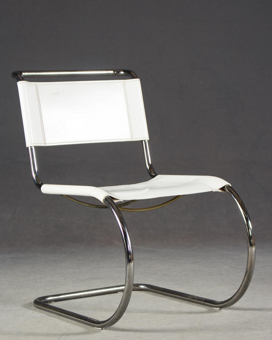 Mies Van Der Rohe, Freischwinger Stuhl, Modell MR 10 Für Thonet