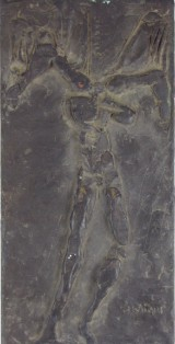 Reliefplatte 'Ikarus'