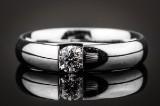 Georg Jensen Centenary diamond ring, 18 kt. white gold, ref. 1493 B