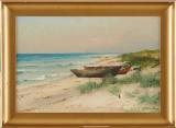Ludvig Richarde oljemålning
