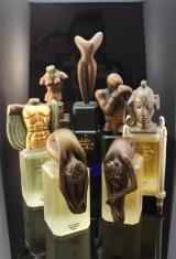 Sculptures 'Lex beaux art' by Salvador Dali, Paul Wunderlich, Bruno Bruni, Miguel Berrocal with perfumes (7)