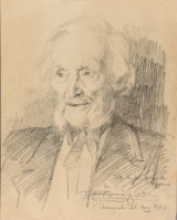 P.S. Krøyer, portrait drawing