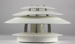 kurt n rregaard for louis poulsen oslo lampe v g loft. Black Bedroom Furniture Sets. Home Design Ideas