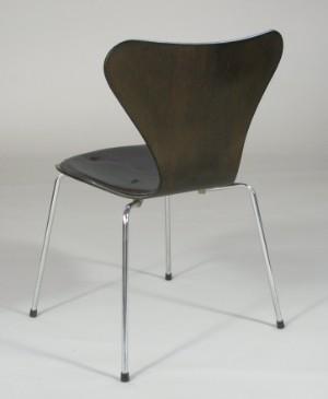 m bel arne jacobsen 6 st hle modell 3107 mit lederpolsterung 6 de. Black Bedroom Furniture Sets. Home Design Ideas