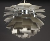 Poul Henningsen. Pendant light 'Artichoke', brushed steel, Ø 60 cm.