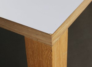 Brdr Andersen. Langbord, egetræ / laminat | Lauritz.com