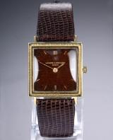 Vacheron & Constantin. Vintage herreur i 18 kt. guld med gyldenbrun skive, ca. 1960'erne