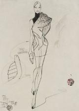Dimitri Jelezky, Fashion 12, 2017. Bleistift