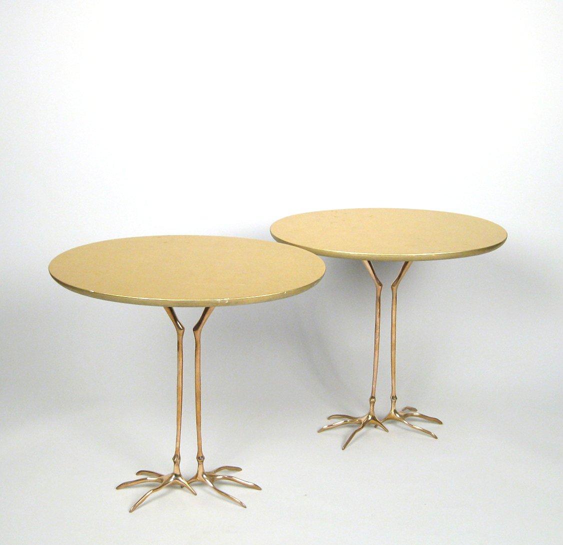 Auktionstipset Meret Oppenheim Paar Beistelltische Coffee Table