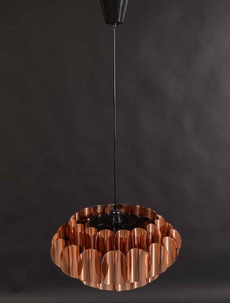 Hans Agne Jakobsson, Design Thorsten Orrling lampa i koppar