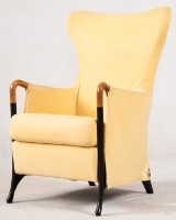 Umberto Asnago, lounge chair/highback chair model Progetti for Giorgetti
