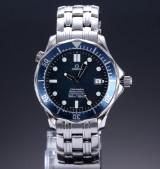 Omega Seamaster 'James Bond' automatic men's watch, steel, date, c. 2000