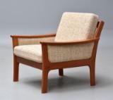 Dansk møbelproducent. Lænestol i teak