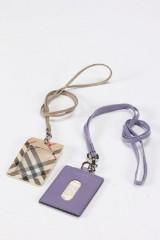 Mulberry og Burberry. Id card holdere (2)