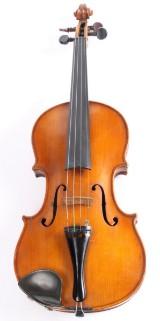 Violin med etikette.