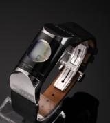 Bvlgari 'Ipno' ladies' watch, steel and ceramic, digital display