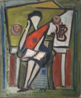 Bram van Velde (1895-1981), oil on canvas