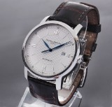 Baume & Mercier 'Classima'. Men's watch, steel, with original strap and clasp