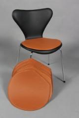 Seks hynder til Arne Jacobsens stole model 3107/3207 (7éren)