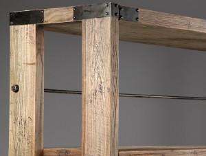 ware 3349306 nordal b cherregal auf rollen. Black Bedroom Furniture Sets. Home Design Ideas