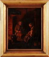 Emerik Stenberg oljemålning