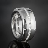 Brilliant-cut diamond ring, approx. 1.11 ct.