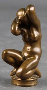 Kai Nielsen. Figur af bronze