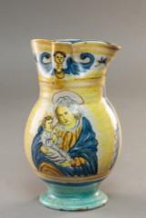 Vinkande af keramik 1800 tallet