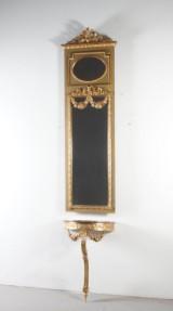 Spegel med konsol, 1800-tal (3)