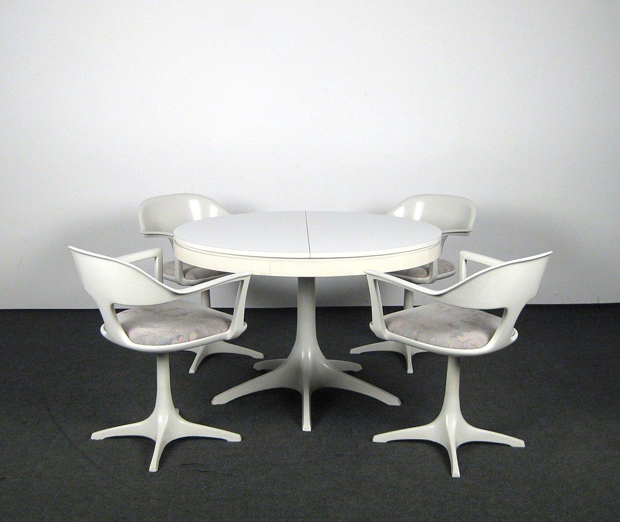 Auktionstipset Space Design Esstisch Stuhle In Baidur Im Stile