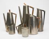 Samling tin, Daalderop, Royal Holland Pewter, KMD Tiel, tin (7)