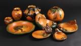 Ipsens enke, vaser og fade, lertøj (9)