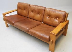 m bel asko tre pers sofa i eg dk kolding trianglen. Black Bedroom Furniture Sets. Home Design Ideas