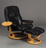 Ekornes. Lænestol samt skammel model Stressless