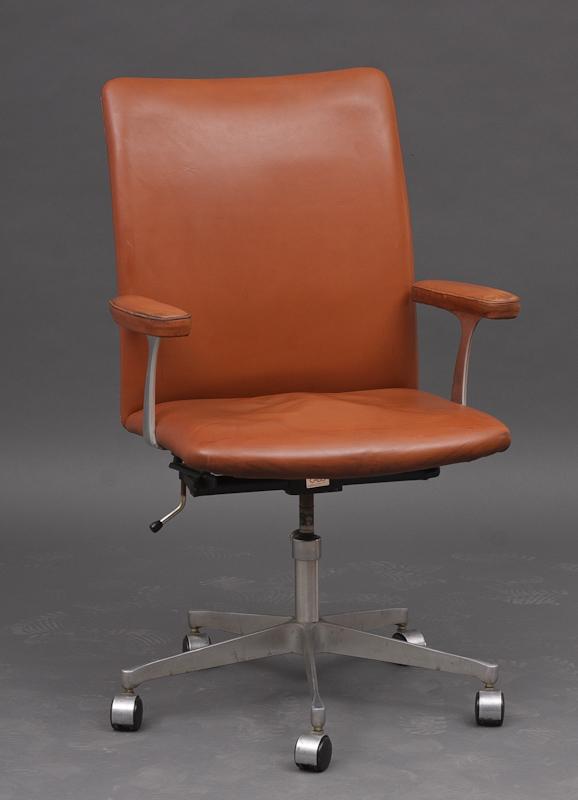 Finn Juhl,lounge stol 45 stol rød
