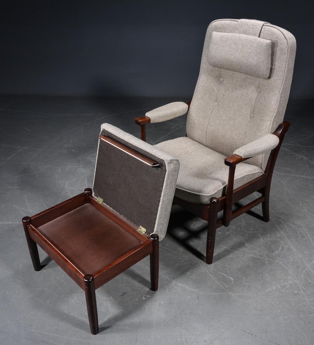 Farstrup Otium stol med skammel (2) |