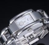 Chopard 'La Strada' ladies' watch, steel, white dial, 2000's