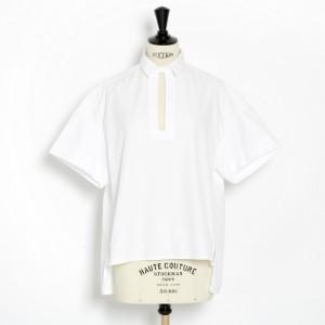 Valentino kortärmad blus i vit bomull  0533c665fb70f