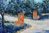 Stefan Tunedal, oljemålning