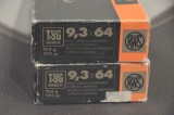 RWS kaliber 9,3x64 riffelpatroner