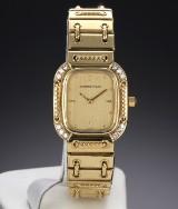 Audemars Piguet 'Classique'. Damenuhr aus 18 kt. Gelbgold mit Brillanten, ca. 1980er Jahre