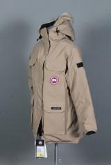 Canada Goose. Ladies Expedition Parka, tan/ mørk beige, str. M.